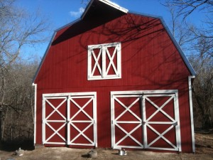 remodel, barn, old, red, reclaim, reconstruct